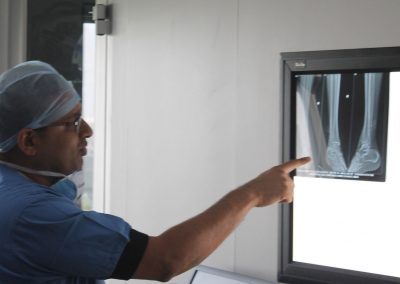 Dr. Pranav Shah explains the XRAY